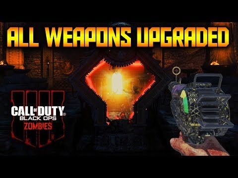 ALL GUNS PACK A PUNCHED IN BLACK OPS 4 ZOMBIES (Every BO4 Zombies Weapons Upgraded)