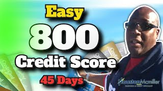 SECRETS TO INCREASE CREDIT SCORE TO 800+ In 45 Days! MUST WATCH!