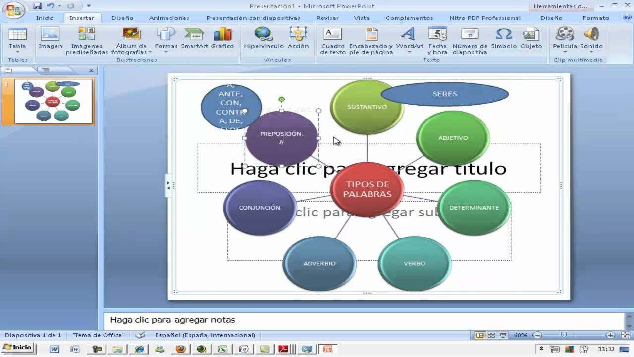 how to make a mind map on microsoft powerpoint 2007