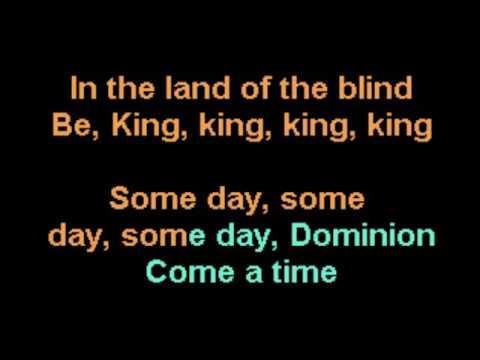 Dominion The Sisters of Mercy Karaoke REVISED CustomKaraoke RARE custom