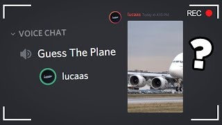 Guess The Plane in Discord