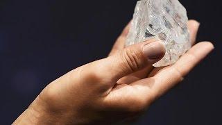 Pas de preneur pour le plus gros diamant brut au monde