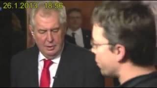 Very funny drunk czech president