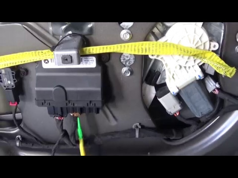 Ac Disconnect Wiring Diagram 2013 Dodge Challenger Driver Window Problem Youtube