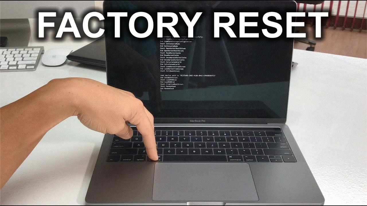 How to Restore Reset a Macbook Pro A1706 to Factory Settings ║OS X High  Sierra