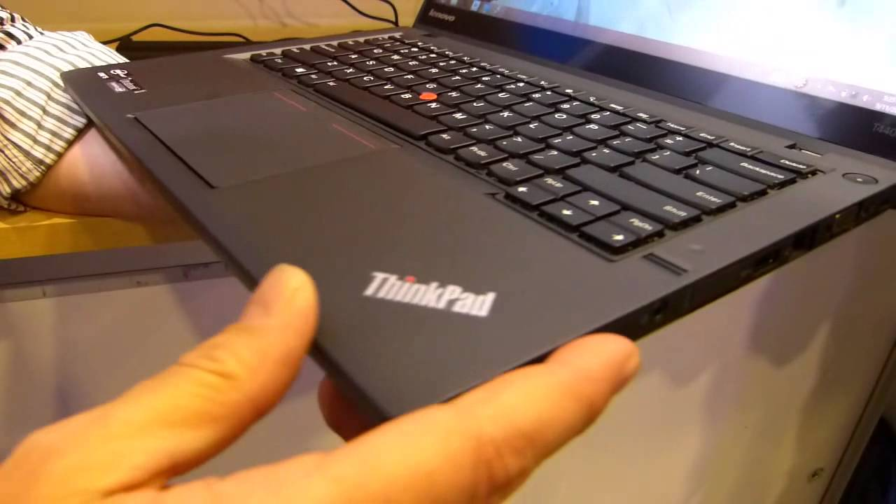 Lenovo Thinkpad T440S and Hot Swap Battery Demo - YouTube