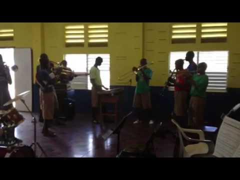 Alpha Boys Music School in Kingston, Jamaica- Lean on Me