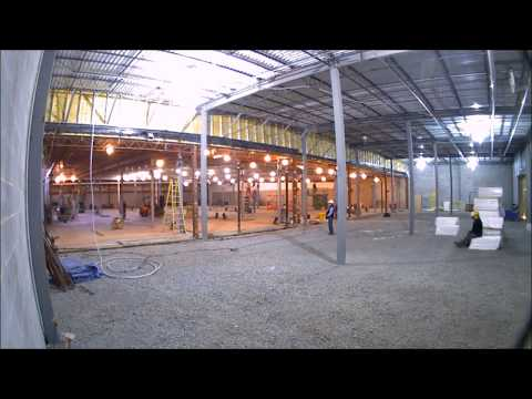 PREIT - Roof Lifting Time Lapse