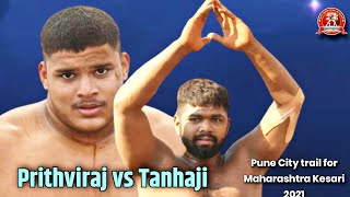 pruthviraj mohol vs munna zunjurake at pune city trail for maharashtra kesari 2021