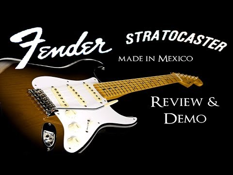 Mexican Fender Stratocaster Review & Demo