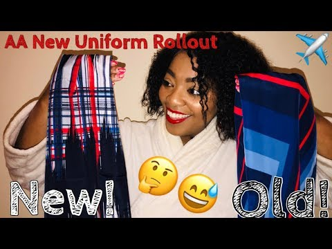 American Airlines Launches NEW UNIFORMS ✈️💙❤️👩🏽✈️ | Mo'sLife