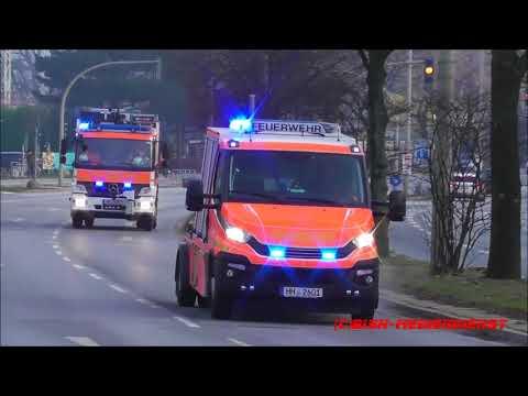 [Frohe Weihnachten] Elbtunnel Feuerwehr Nord Hamburg