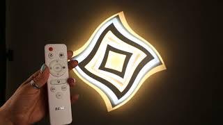 Відео інструкція до пульта управління до світильників OMNILUX 3D Space