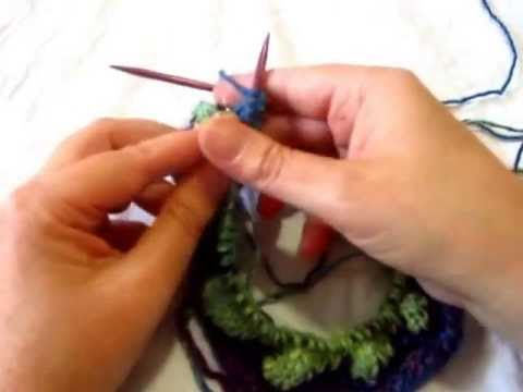 How to Knit Crown Jewel Hat Entrelac Section - YouTube ab55d770dcb