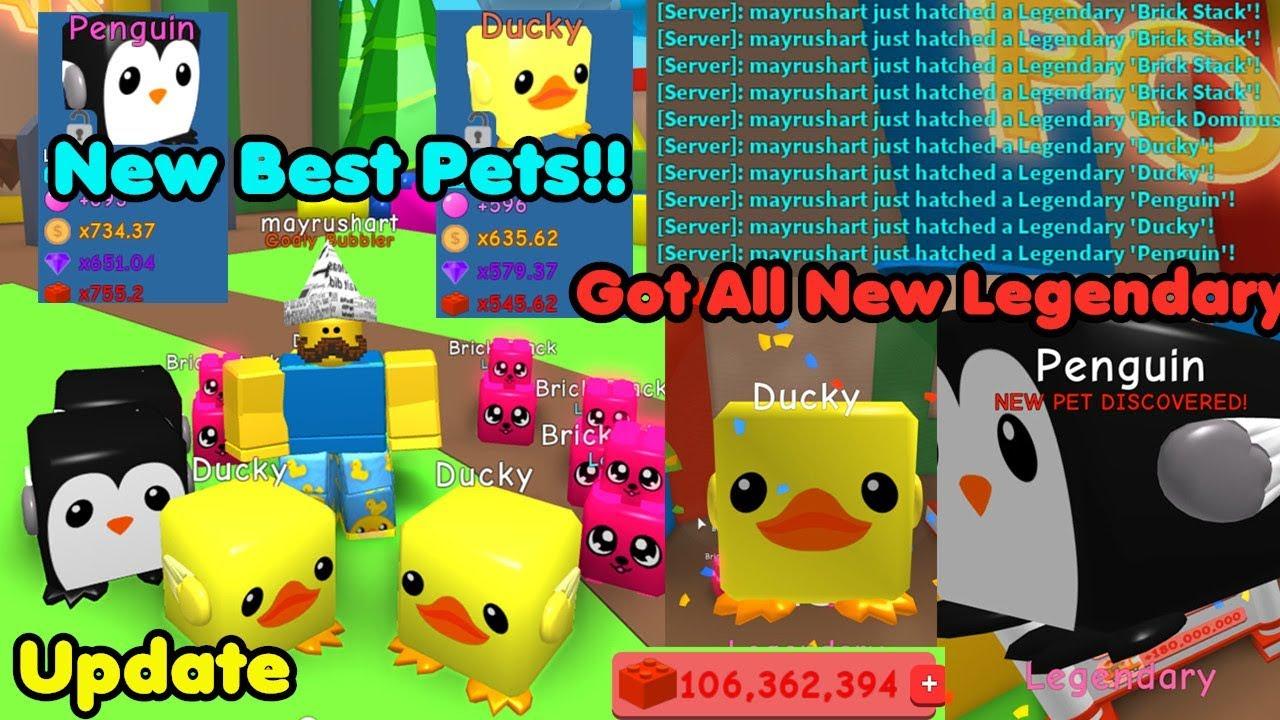 update    legendary pets    pets