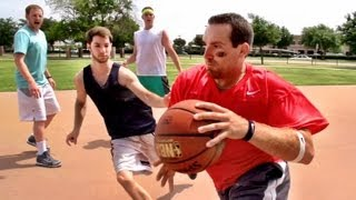 Stereotypes: Pickup Basketball(Pickup ballers. Love 'em or hate 'em, we all know 'em. ---------------------------------------- ▻ VISIT our NEW STORE! - http://dudeperfect.merchline.com ▻ Play our ..., 2013-08-19T13:00:46.000Z)