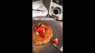 Fruity Oat Pancakes (With Eggless Option)