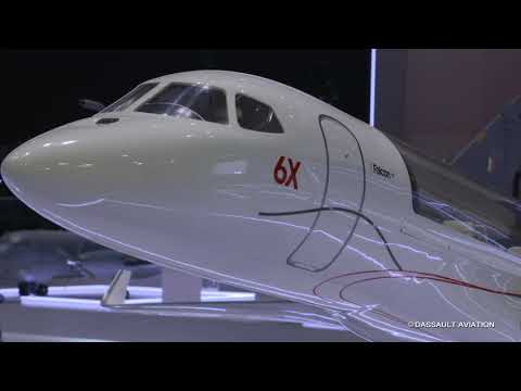Visite du stand civil - Salon du Bourget 2019 - Dassault Aviation