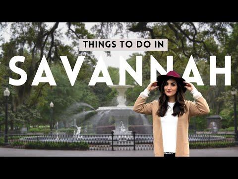 SAVANNAH GEORGIA TRAVEL VLOG | WHAT I ATE, WORE & DID | CATOURA