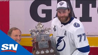 Victor Hedman Presented With Conn Smythe Trophy As Playoff MVP
