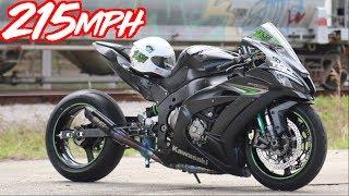 Nitrous Kawasaki ZX-10R 215MPH Street Bike! - H2R & Hayabusa Slayer?!