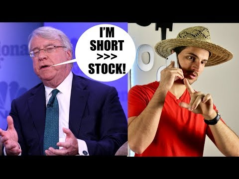 Jim Chanos has a New Short Position **Not Tesla**