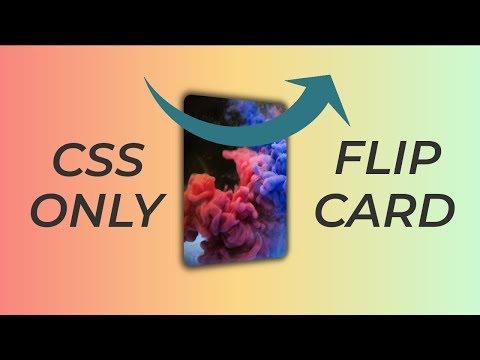 CSS 3D Flip-Card Effect Tutorial thumbnail