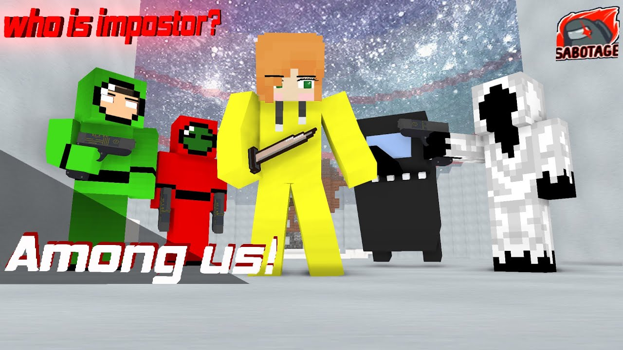 Monster School : Among Us ALEX IS THE IMPOSTOR - MINECRAFT ANIMATION