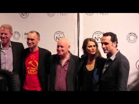 Keri Russell, Matthew Rhys, Noah Emmerich, Joel Fields, Joseph Weisberg at The Americans Premiere