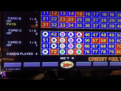 Igt super keno strategy age limit at four winds casino