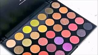 Morphe Brushes -  Preview of New 35M Boss Mood Artistry Palette | MAKEUP ADDICTED