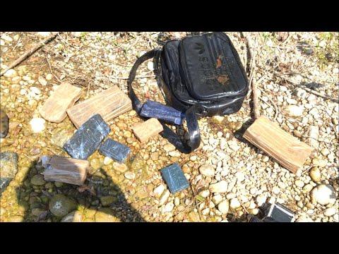 J'ai trouvé un sac avec 7 kilos de #### , j'amène tout à la police