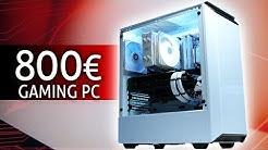 800 Euro GAMING PC 2020 | Der SCHNELLSTE den DU derzeit bauen kannst! | TEST & Zusammenbauen