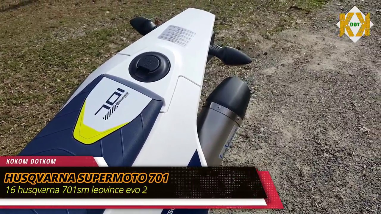 husqvarna 701 supermoto best 6 full exhaust sound. Black Bedroom Furniture Sets. Home Design Ideas