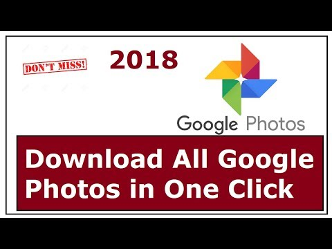 Download All Google Photos In Single Click
