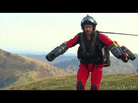 euronews (en français): Bientôt des secouristes volants en Angleterre ?