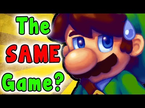 How Similar Are THE LEGEND OF ZELDA And SUPER MARIO BROS? (Series Analyses/Breakdown)