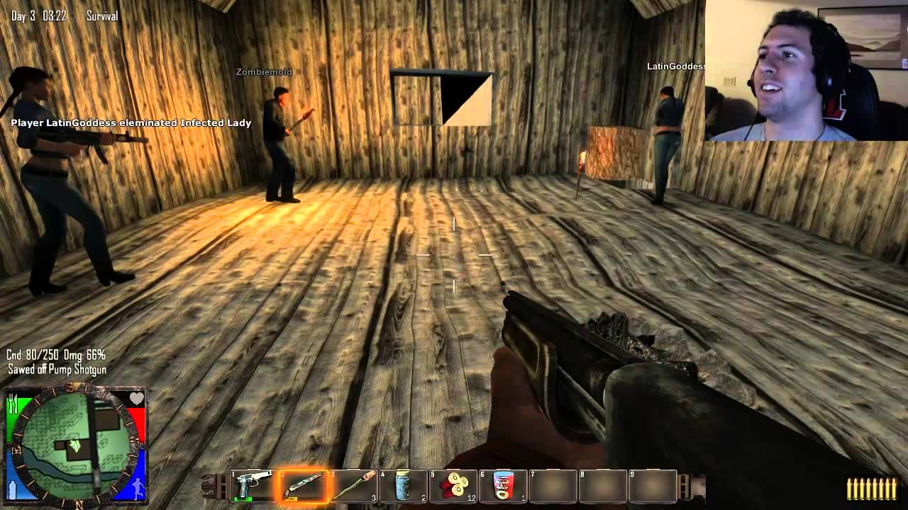 Let S Play 7 Days To Die Part 2 A Night In The Attic