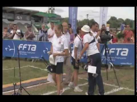 Championnat de France Arc classique Scratch 2012 - Amiens