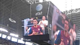 Barcelona in Dallas Cowboys , the 1 st Goal