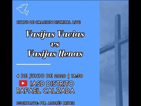 8 Días de Instrucción con Cristo Jesús - Semana Santa | Día 8 from YouTube · Duration:  2 hours 1 minutes 14 seconds