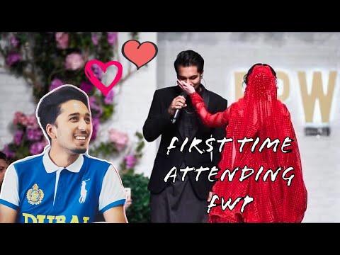 Asim Azhar dedicate a song to Hania Amir at Ramp Walk In FWP KARACHI 2019 | JO TU NA MILA |