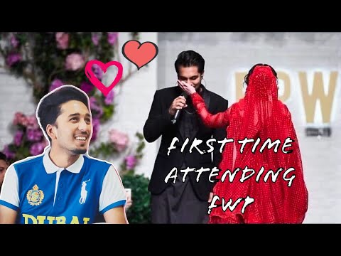 Asim Azhar Dedicate A Song To Hania Amir At Ramp Walk In FWP KARACHI 2019 | JO TU NA MILA |