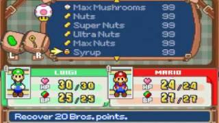 Mario Luigi Superstar Saga Codebreaker Codes Part
