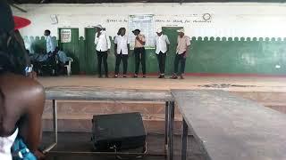 odi  dance AT KIANGIMA GIRLS DURING A JOURNALISM FUNCTION...