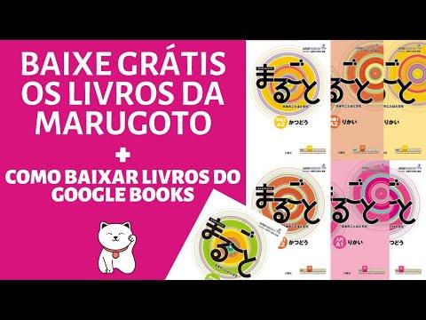 livros-marugoto-grátis-+-como-baixar-livros-do-google-books