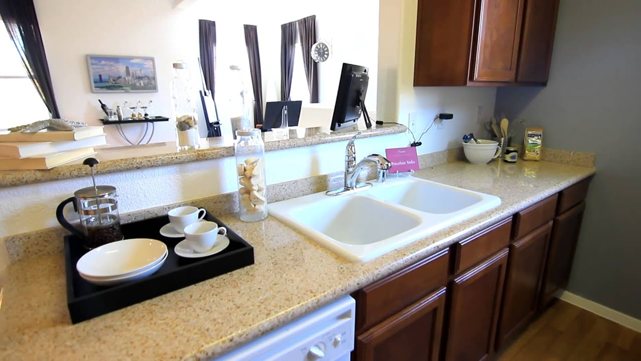 verona apartments las vegas 1 bedroom model tour - youtube