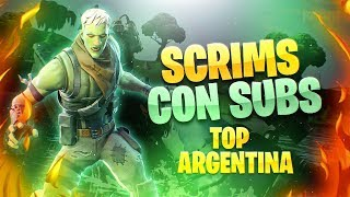 FORTNITE EN VIVO| TOP 15 ARG PS4
