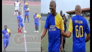 Funny Match Dribble Goals Yinka Quadri Dele OduleMalaikaOther Yoruba Actors Play Against Obasa