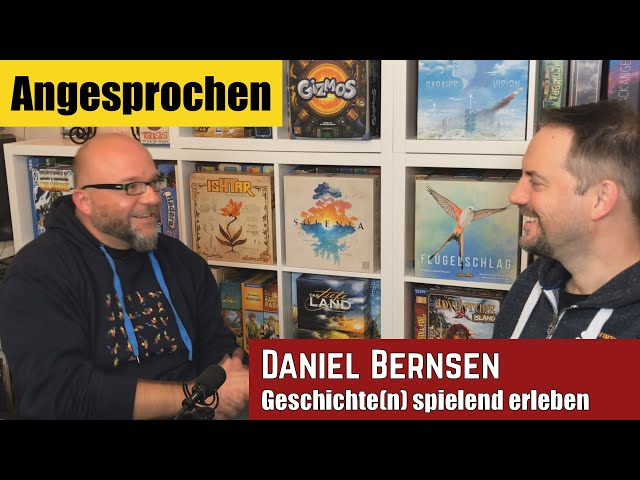 Angesprochen - Geschichte spielend erleben - Gespräch mit Daniel Bernsen
